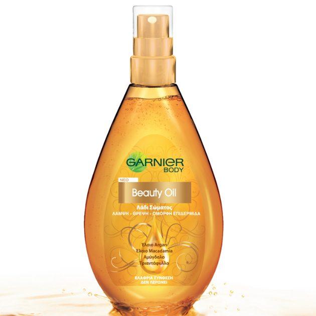 6 | Garnier Body Beauty Oil