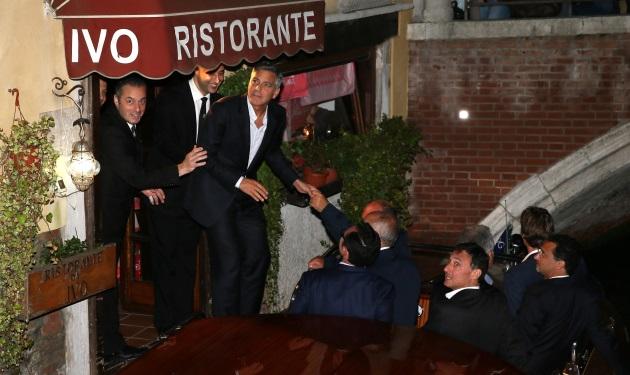George Clooney – Amal Alamuddin: Το πρώτο party πριν από το γάμο! Φωτογραφίες   tlife.gr