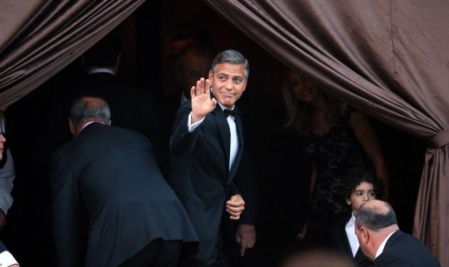 George Clooney – Amal Alamuddin: Οι πρώτες φωτογραφίες από τον γάμο τους στη Βενετία! | tlife.gr