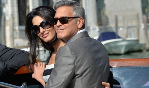 George Clooney: Έφτασε στη Βενετία με την μέλλουσα σύζυγό του! | tlife.gr