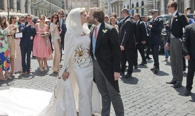 Χλιδάτος γάμος για τον δισεκατομμυριούχο Joseph Getty με Ελληνίδες καλεσμένες