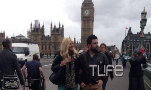 Γ. Γιαννιάς – Ε. Παντελιδάκη: Ρομαντική απόδραση στο Λονδίνο! Αποκλειστικές φωτογραφίες | tlife.gr