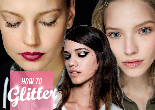 10 καθόλου κιτς τρόποι να φορέσεις glitter στο ρεβεγιόν!