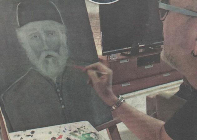 Σταμάτης Γονίδης: Εμφανίστηκε στον καμβά του ο Άγιος Παΐσιος χωρίς να τον έχει δει ποτέ!