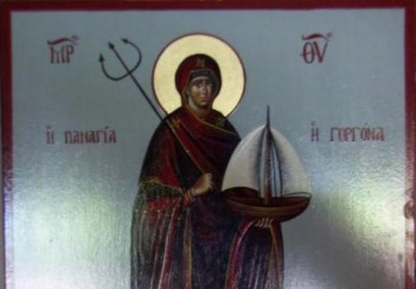 Κι όμως υπάρχει εικόνα της Παναγίας… γοργόνας!