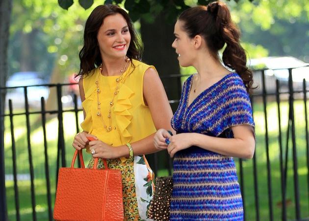 Tι φοράει η Leighton Meester στα γυρίσματα του Gossip Girl; | tlife.gr