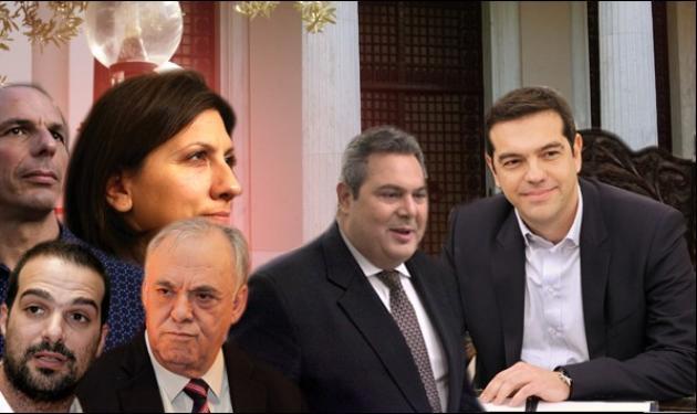 Αυτοί είναι οι υπουργοί της νέας κυβέρνησης!