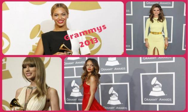 Grammys 2013: Beyonce, Rihanna και Adele έλαμψαν στην 55η απονομή! Φωτογραφίες | tlife.gr