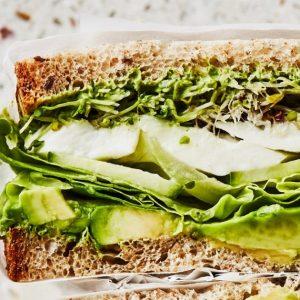 """""""Πράσινα"""" sandwiches"""