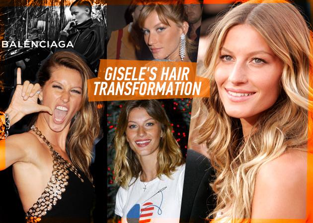 Θυμάσαι την Gisele με καρέ; Δες τις αλλαγές που έχει κάνει στα μαλλιά της!