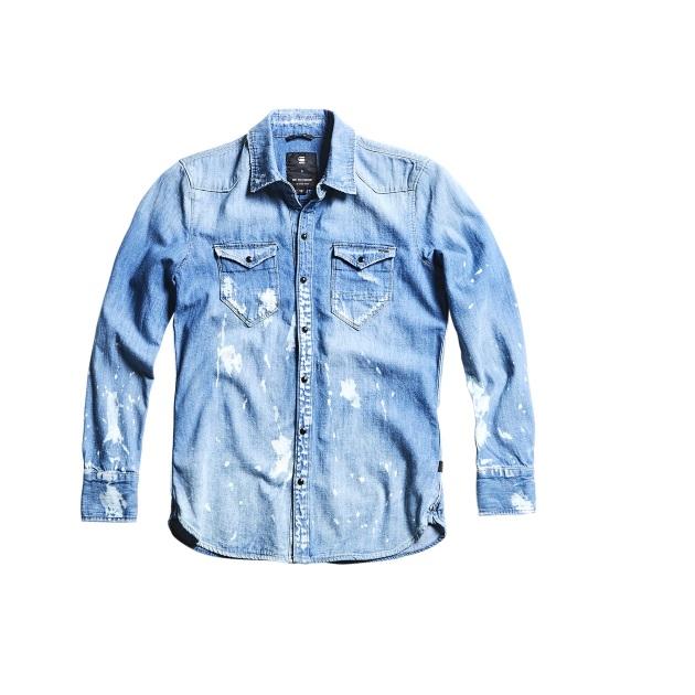 4   Jean πουκάμισο G star