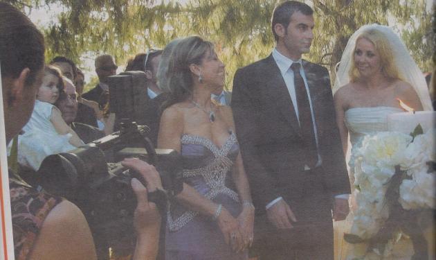 Δες φωτογραφίες  από τον γάμο Μαστροκώστα – Δέλλα! | tlife.gr