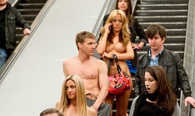 Κυκλοφορούν στο μετρό.. γυμνοί! | tlife.gr