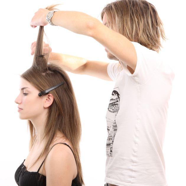 2   Μαλλιά: step 1