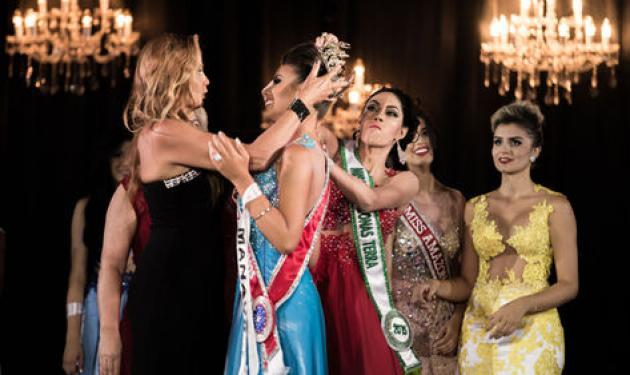 """Πιάστηκαν μαλλί με μαλλί στα καλλιστεία """"Μις Αμαζόνα 2015""""!"""