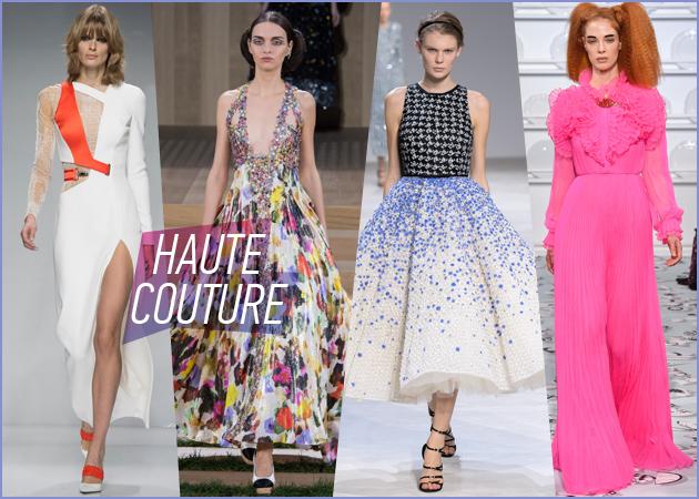 Υψηλή Ραπτική: Τα φορέματα των ονείρων μας στις πασαρέλες του Παρισιού!