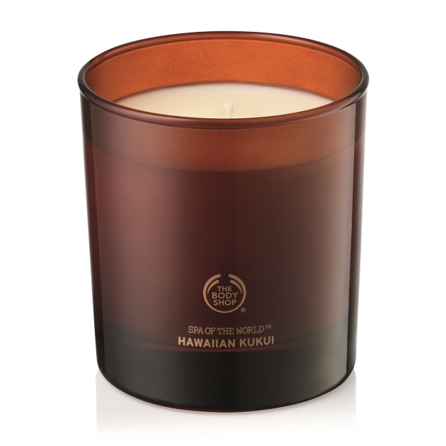 2 | The Body Shop candle Hawaiian Kukui