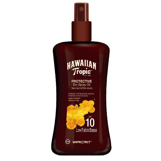 3 | Hawaiian Tropic Protective Dry Oil SPF10
