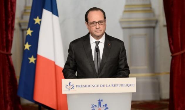 Η σκληρή απάντηση του Ολάντ μετά το μακελειό στο Παρίσι | tlife.gr