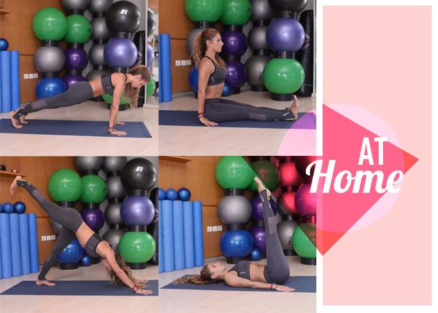 Γυμναστική στο σπίτι: Ασκήσεις για γρήγορο αδυνάτισμα…