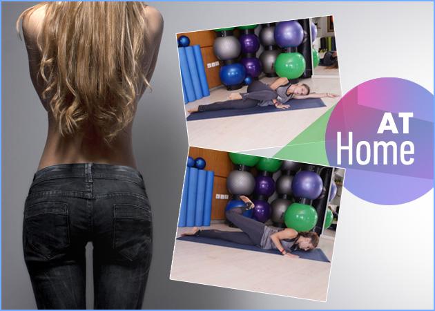 """Γυμναστική στο σπίτι: Ασκήσεις για να διώξεις τα """"ψωμάκια"""""""