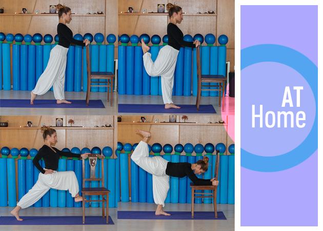 Γυμναστική στο σπίτι με μια καρέκλα: Ασκήσεις για τέλειους γλουτούς | tlife.gr