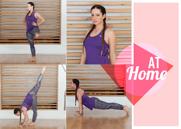 Γυμναστική στο σπίτι: Διώξε το λίπος με 4 κινήσεις! | tlife.gr