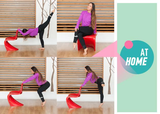 Γυμναστική στο σπίτι: Ασκήσεις για σύσφιξη και γράμμωση στους γλουτούς και τα πόδια | tlife.gr