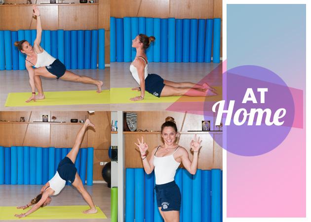 Γυμναστική στο σπίτι: Ασκήσεις που καίνε λίπος και αδυνατίζουν! | tlife.gr