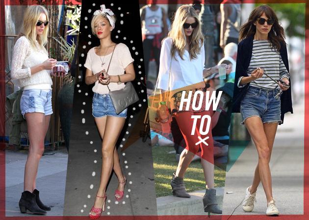 CELEBRITY STYLE: Οι stars σου δείχνουν πως να φορέσεις το  jean σορτς!