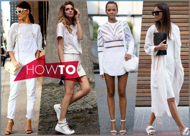 STYLING TIPS: 12 stylish τρόποι να φορέσεις το λευκό αυτή την άνοιξη! | tlife.gr