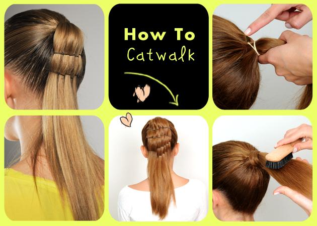 Πώς να κάνεις ένα διαφορετικό ponytail με τσιμπιδάκια!