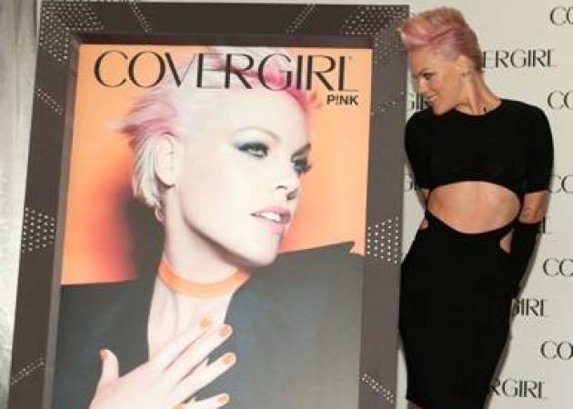 Η Pink είναι το νέο πρόσωπο της Cover Girl!