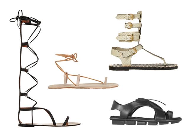 Flat sandals: Το Tlife σου φέρνει τα ωραιότερα μέσα από το Net-A-Porter! | tlife.gr