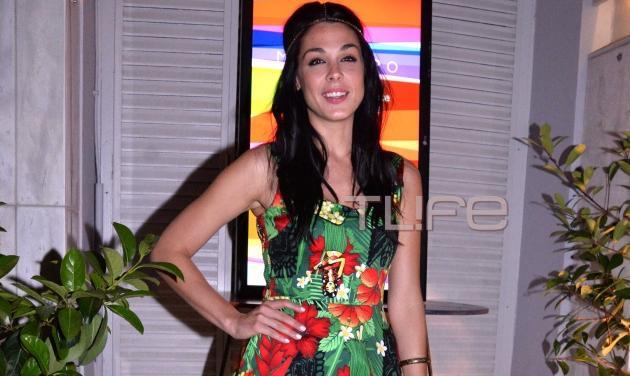 Ιωάννα Τριανταφυλλίδου: Βραδινή έξοδος σε πάρτι περιοδικού παρέα με την αδερφή της! | tlife.gr