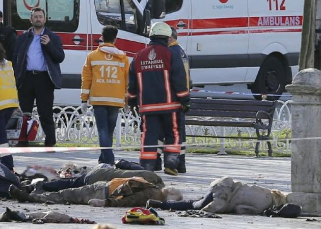 Κωνσταντινούπολη: Μακελειό με θύματα τουρίστες κοντά στην Αγία Σοφία και στο Μπλέ Τζαμί