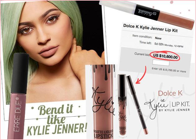 10 κραγιόν από 10 ευρώ που είναι ίδια με της Kylie Jenner!
