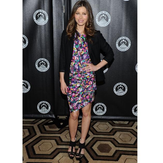 1 | Copy the look: Jessica Biel