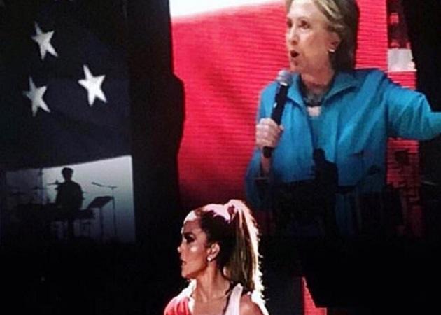 Jennifer Lopez: Tα λόγια παρηγοριάς και στήριξης  στη Hillary Clinton! | tlife.gr