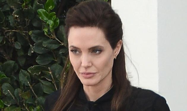 Angelina Jolie: Η ανεμοβλογιά την γέμισε σημάδια! Βίντεο | tlife.gr