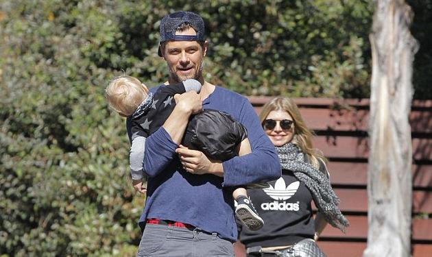 Josh Duhamel: τρυφέρος μπαμπάς και βόλτα με τη Fergie! | tlife.gr