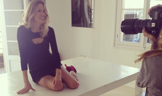 B. Kαγιά: Η εβδομάδα της ξεκίνησε με φωτογράφιση και Πρωινό ΑΝΤ1!