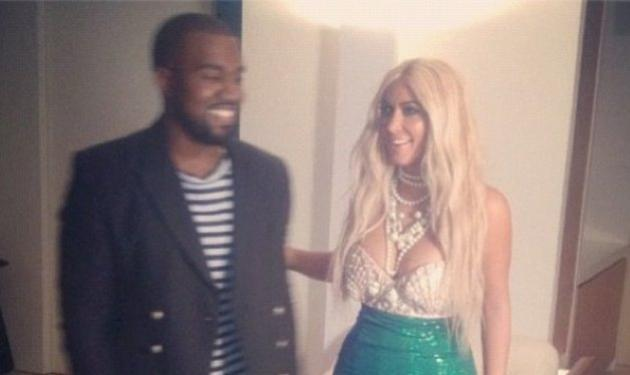 Η Kim Kardashian έγινε ξανθιά και ντύθηκε γοργόνα για το Halloween!