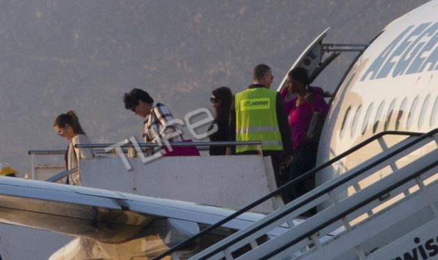 Οι Kardashian στην Μύκονο! Οι πρώτες φωτογραφίες από την άφιξή τους στο νησί