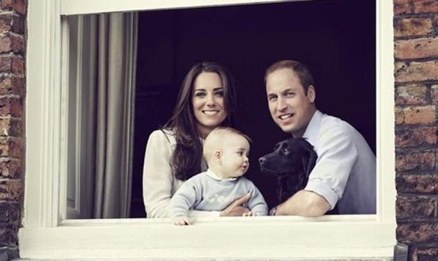 Kate – William: Νέα φωτογραφία με τον μικρό πρίγκιπα George   tlife.gr