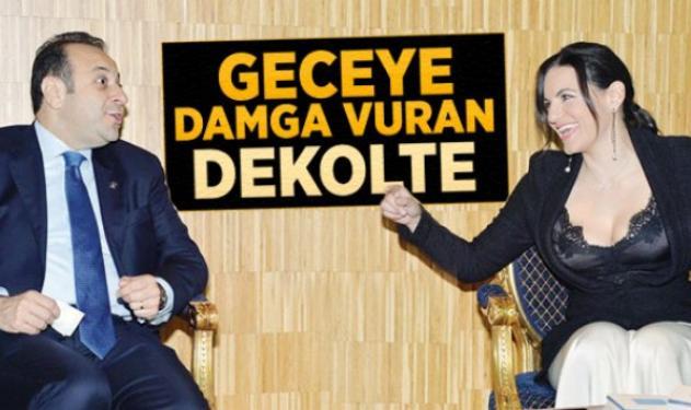 Το ντεκολτέ της Όλγας εντυπωσίασε και τον Μπαγίς! | tlife.gr