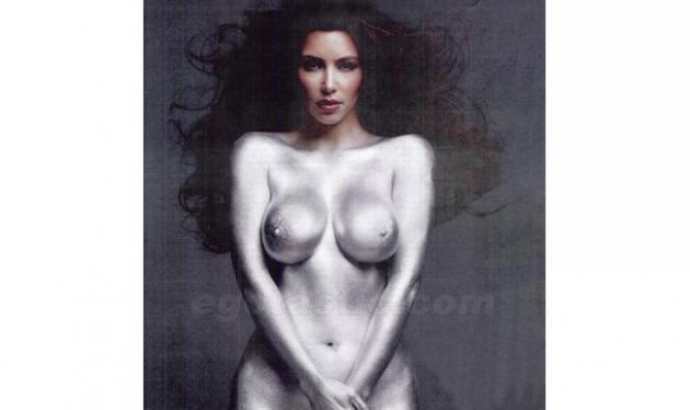 Η γυμνή φωτογράφηση της Κardashian σόκαρε ακόμα και την ίδια! | tlife.gr