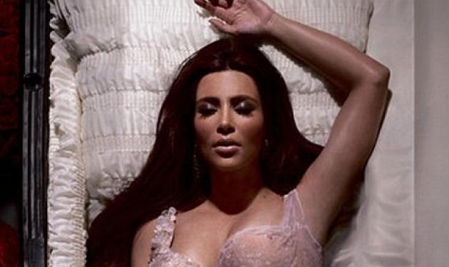H  Kim Kardashian  σε φέρετρο! | tlife.gr
