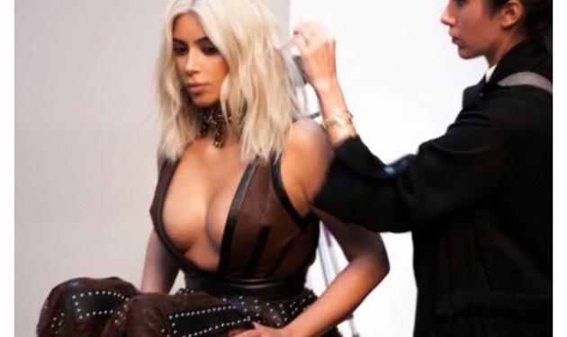 Kim Kardashian: Το φόρεμα με το πιο… αβυσσαλέο ντεκολτέ του κόσμου! | tlife.gr