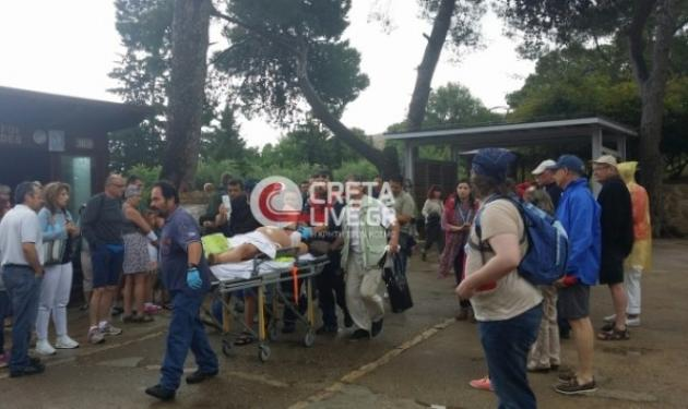Κρήτη: Χαροπαλεύει η γυναίκα που την χτύπησε κεραυνός στην Κνωσό! | tlife.gr